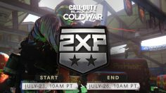 Warzone and Cold War Double XP Weekend End Time – July 26, 2021