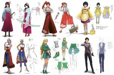 Discover the Striking Art of Sakura Wars, Available Today