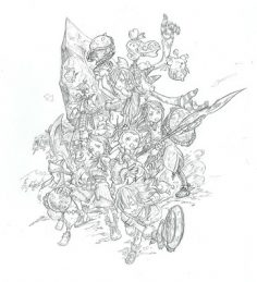 Take a guided tour of Final Fantasy Crystal Chronicles Remastered Edition's beautiful concept art