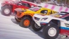 Dirt 5's online multiplayer, including Party modes, detailed