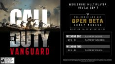 Call of Duty: Vanguard multiplayer and beta details revealed