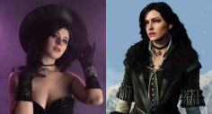 The Witcher Cosplay Gives Yennefer a Mystical Halloween Twist