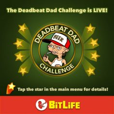 BitLife Deadbeat Dad Challenge Guide – How to never have a full-time job, gamble money, have home repossessed, reconnect with an estranged child