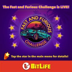 BitLife Fast and Furious Challenge Guide – How to steal stolen cars and never go to jail