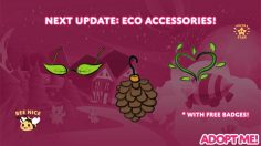 Adopt Me Eco Accessories Update Release Time, Patch Notes, 4 pm BST to Local Time