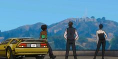 GTA Online Fan Designs Awesome Anime Trailer That Cries Out for a Real Series