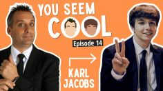 Karl Jacobs Guests on Impractical Joker's Star Joe Gatto's Podcast 'You Seem Cool'