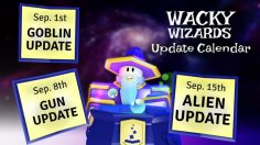 Wacky Wizards All Gun Update Potions and Ingredients