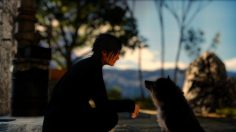 Final Fantasy Fan Cosplays as Noctis with His Dog as Umbra